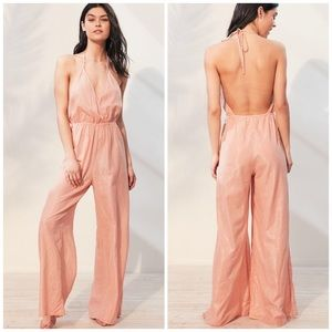 Urban Outfitters Out From Under metallic jumpsuit
